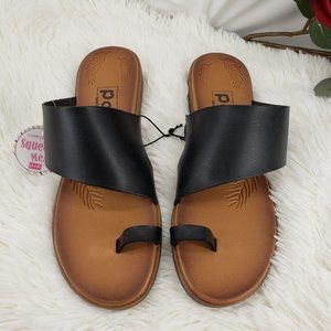 Very Cushy Flat Sandals NIB
